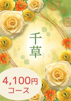 4100円コース