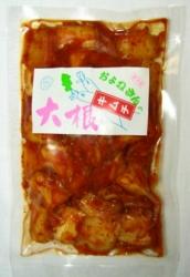 菊芋キムチ(大根)パッケージ