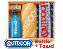 USカジュアル OUTDOORのドリンクボトル&タオルギフト(ボトル×1、フェイス×2)