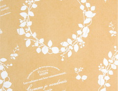 包装紙 カフェフラワー