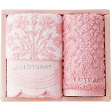 JILLSTUART Towel Gift (Wash×1,Face×1)