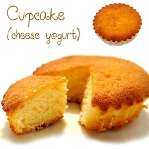 Cupcake (cheese yogurt)