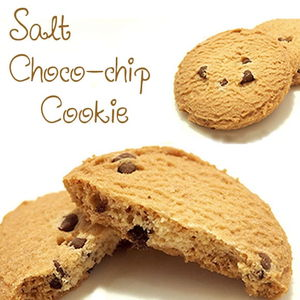 Salt choco-chip cookie