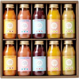 国産素材だけで作った 安心おいしいフルーツスムージー(10 bottles)