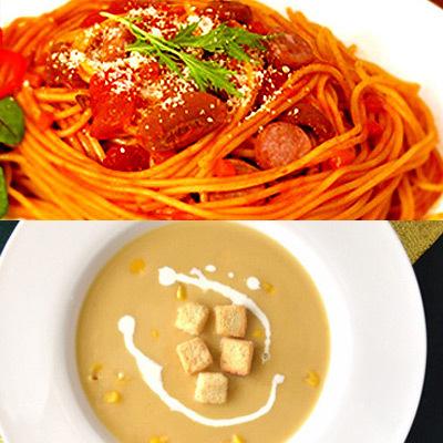 もちもちパスタ&絶品スープのディナーギフトセット