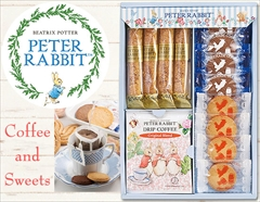 ピーターラビット ドリップコーヒー&焼き菓子(12pcs)のカフェタイムギフト
