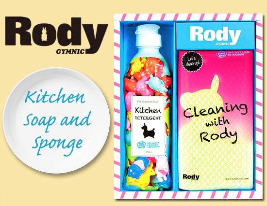 ロディのかわいいキッチン洗剤(1P)&メッシュスポンジギフト