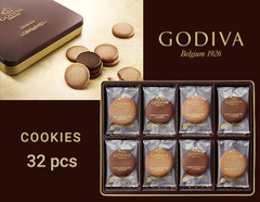GODIVA ゴディバ プレミアムクッキー(32pcs)