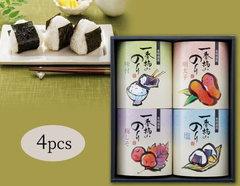 ほかほかご飯に♪おいしい有明海苔バリエーションギフト(4pcs)