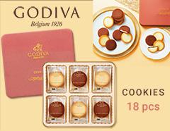 GODIVA ゴディバ ショコラ&ブランクッキーギフト(18pcs)