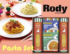 お家ご飯が楽しくなる ロディのカラフルパスタギフト(パスタ×2,ソース×2)