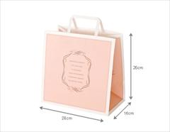 ロイヤルピンク ペーパーバッグ(26cm)