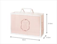 ロイヤルピンク ペーパーバッグ(32cm)