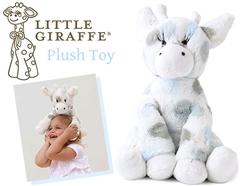 トム・クルーズの愛娘も愛用♪Little Giraffeのふわふわキリンさんぬいぐるみ(ブルー)