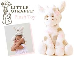 トム・クルーズの愛娘も愛用♪Little Giraffeのふわふわキリンさんぬいぐるみ(ピンク)