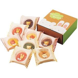 可愛いすぎて食べづらい!?うさクマ焼きドーナツ(8pcs)