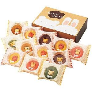 可愛いすぎて食べづらい!?うさクマ焼きドーナツ(12pcs)