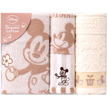 Organic Mickey (Bath 1P・Face 1P・Wash 2P)