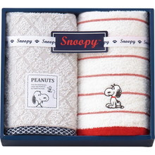 Vintage SNOOPY (Face×2)(Red)