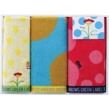 UNITED ARROWS Organic Towel (Face×2,Wash×1)