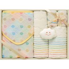 Baby Marshmallow Towel (Wrap×1,Face×1, Wash×1, Mini×2,Toy×1)