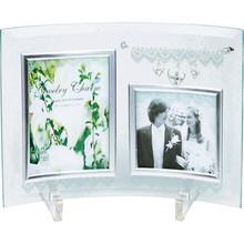 Glass Photo Frame with charm (2W)
