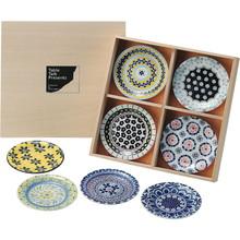 Polish Pottery (8mini plates)
