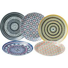 Polish Pottery (5 Pasta Plates)