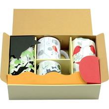 Birds and Cat,Mug & Hand Towel Gift