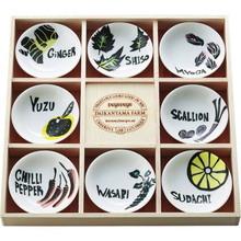 Vegetable mini plates (8pcs)