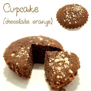 Cupcake (chocolate orange)