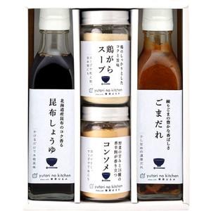 栗原はるみの万能調味料ギフト(4本)