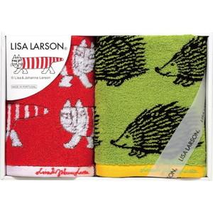 ママにも大人気♪リサ・ラーソンのスウェーディッシュタオル(フェイス1&ウォッシュ1)