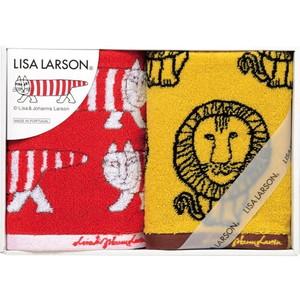 ママにも大人気♪リサ・ラーソンのスウェーディッシュタオル(フェイス2)