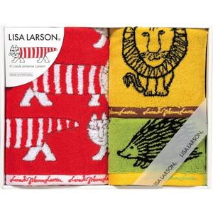 ママにも大人気♪リサ・ラーソンのスウェーディッシュタオル(フェイス1&ウォッシュ2)