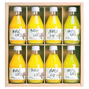 Fresh Fruit Juice (4 flavor 8 bottles)