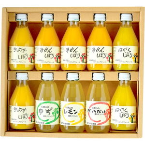 Fresh Fruit Juice (6 flavor 10 bottles)