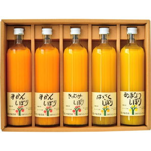 Fresh Fruit Juice (L-5bottles)