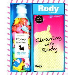 Rody Kitchen Soap (1P)、Sponge(1P)