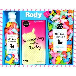 Rody Kitchen Soap (1P)、Refill (1P)、Sponge(1P)