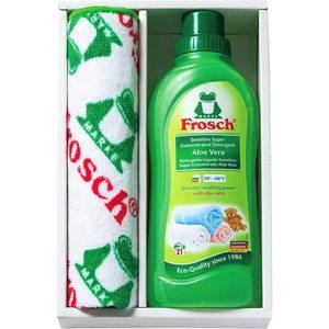 Frosch Laundry Detergent & Microfiber cloth