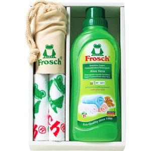 Frosch Laundry Detergent & Microfiber cloth & Bag