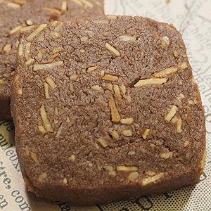 チョコアーモンドクッキー