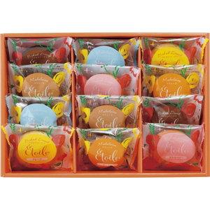 ビタミンカラーパッケージ ベイクドドーナツとマドレーヌのギフトセット(12pcs)