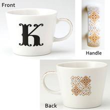 Alphabet Mug (K)