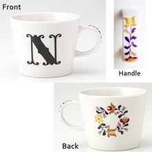 Alphabet Mug (N)