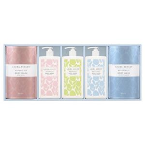 LAURA ASHLEY Soap Gift (Bottle×3, Refill×2)