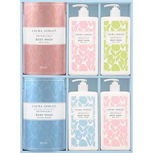 LAURA ASHLEY Soap Gift (Bottle×4, Refill×2)