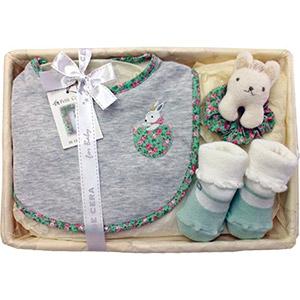 Organic Cotton Baby Set (Flower)