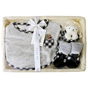 Organic Cotton Baby Set (Plaid)